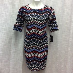 EnFocus Studio Red, white and blue Dress Size 4